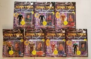 Vintage-Lot-of-7-Star-Trek-Deep-Space-9-Playmates-Action-Figures-from-1993