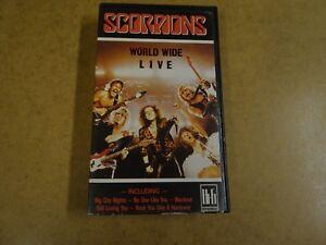 VHS-VIDEO-CASSETTE-SCORPIONS-WORLD-WIDE-LIVE