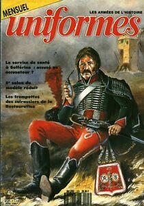 Revue-magazine-militaire-uniformes-no-103-juin-1987