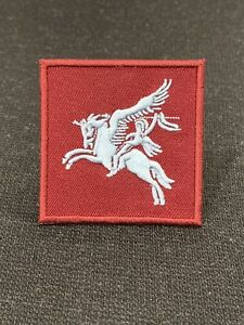 BRITISH-ARMY-PARACHUTE-REGIMENT-PEGASUS-PATCH-COLOURED-ISSUE-NEW