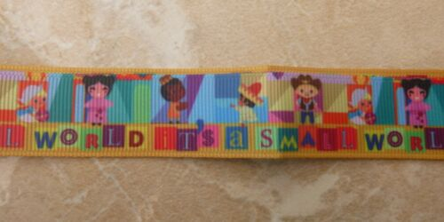 Waterproof Holder Disney/'s It/'s A Small World Ride Lanyard for Pin Trading inc