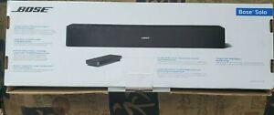 Bose Solo 5 Model 418775 Bluetooth TV Sound System Soundbar Black