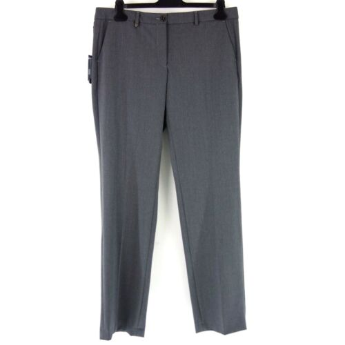 Cheap Marina Yachting Women Pants 38 42 44 Grey Cloth Trousers Straight with Wool hot sale