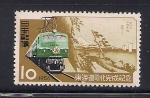 100% De Qualité Japon 1956 Sc #632 Locomotive Neuf Sans Charnière (40225)-afficher Le Titre D'origine AgréAble En ArrièRe-GoûT