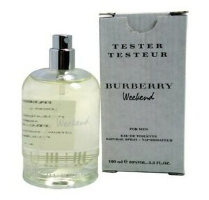 BURBERRY WEEKEND for Men Cologne 3 3 oz 3 4 oz edt New in Box tester