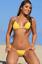 UjENA Women`s Swimwear Hot Pink Sheer When Wet String Side Tie Bikini C234 NWT