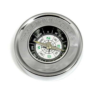 Engraved Compass Personalised Camping Hiking Orienteering Present Birthday Gift