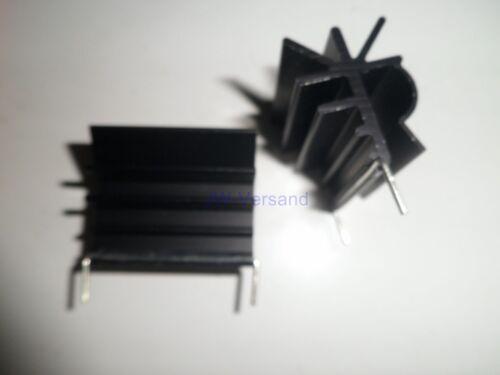 Aufsteckkühlkörper  für TO-220 Lötbar