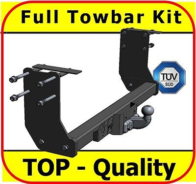 Flange Tow Bar Witter Towbar for Ford Transit Chassis Cab Standard 2000-2014
