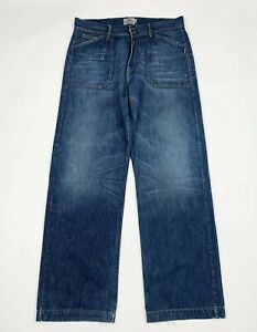 Indian-rags-jeans-uomo-usato-W37-tg-51-comfort-gamba-dritta-boyfriend-T6149