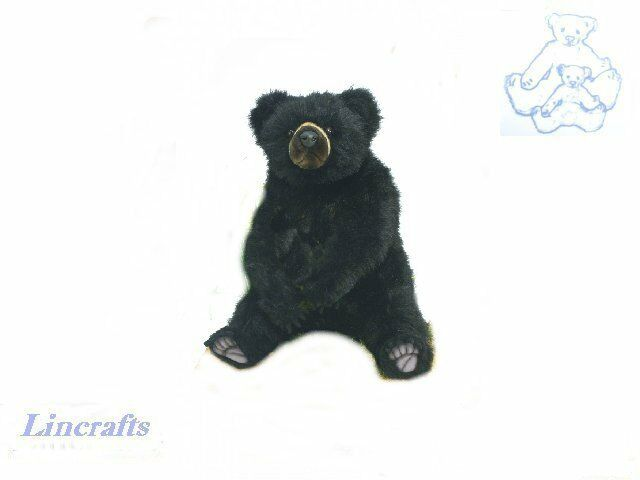 Hansa Sitting Andean Bear 5641 Plush Soft Toy Sold by Lincrafts Established 1993