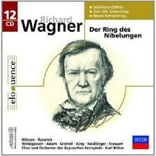 ADAM/BÖHM/+ - RICHARD WAGNER-DER RING DES NIBELUNGEN (LIMITED DITION) 12 CD NEU