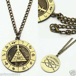 Anime-Gravity-Falls-Bill-Cipher-Boss-Necklace-Pendant-Cosplay-Collection