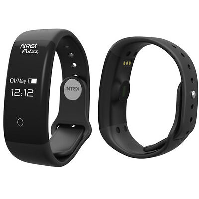 Open Box Intex Fitrist Pulzz Fitness Smart Band 6 Months Manufacturer Warranty!!