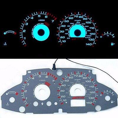 《BAR Autotech》 Tachometer Glow Gauge EL Cluster for Ford Focus 00-04 AT MT MPH