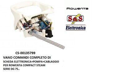 CS-00135799 VANO COMANDI SCHEDA ELETTRONICA COMPLETA PER ROWENTA DG7506