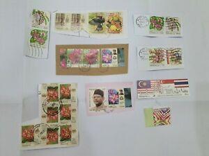 Malaysia-Used-Stamp