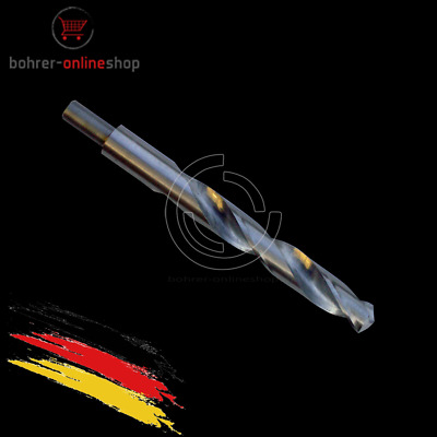 HSS Metallbohrer Spiralbohrer Schaft reduziert für normale Bohrfutter 25mm