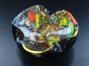 Murano-AVEM-Dino-Martens-Glas-Schale-Tutti-Frutti-glass-dish-murrine-50th