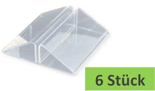 Kartenhalter 7x7 cm 6 Stk Eiskartenhalter Speisekartenhalter Menükartenhalter