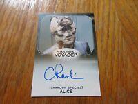 2017 Star Trek 50th Anniversary Claire Rankin As Alice Autograph