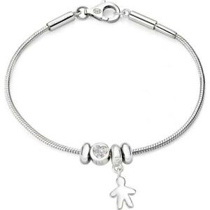 Bracciale Donna MORELLATO SOLOMIA SAFZ66 Argento 925% Charms Swarovski Beads