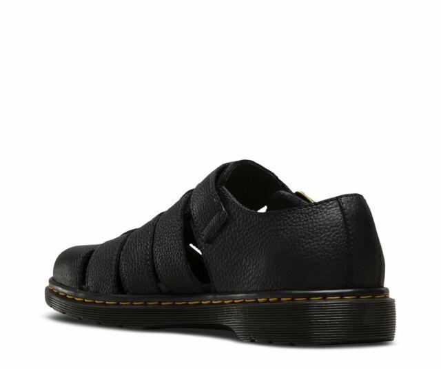 c92975cfe45 Men's Dr. Martens Fenton Leather Sandal Black Grizzly Us8m