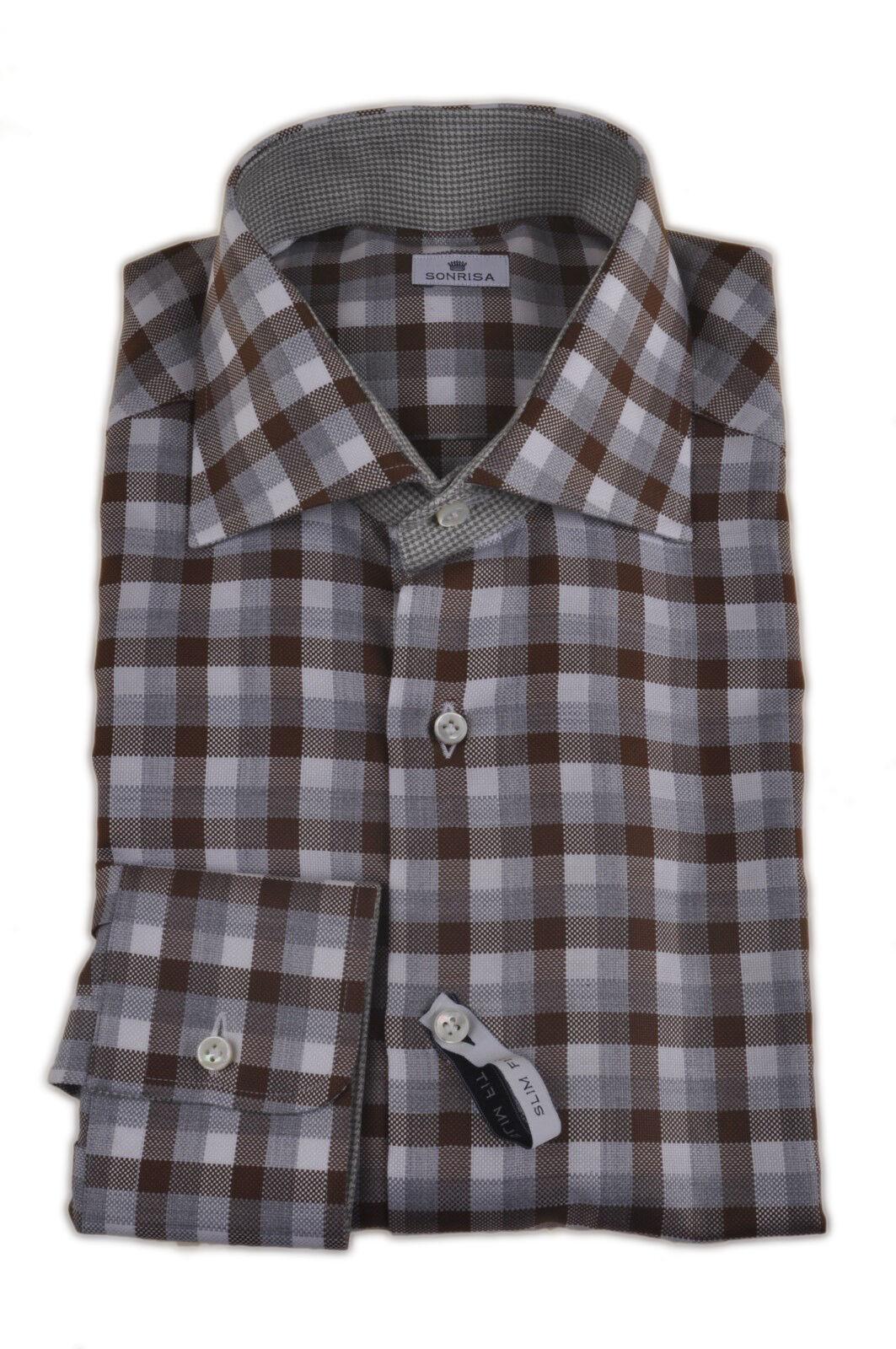 Sonrisa  -  Shirts - male - Braun - 178626A184351