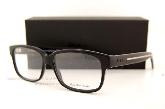13b78345d9c Dior Homme Eyeglasses BlackTie 150 0am5 Black Crystal 54mm for sale ...