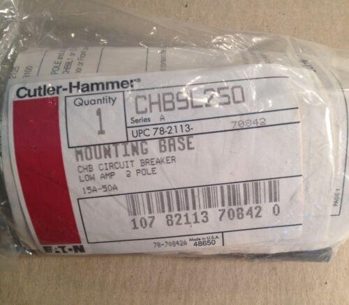 CHB CIRCUIT BREAKER CUTLER HAMMER EATON - CHB9L250 SERIES A 15A-50A