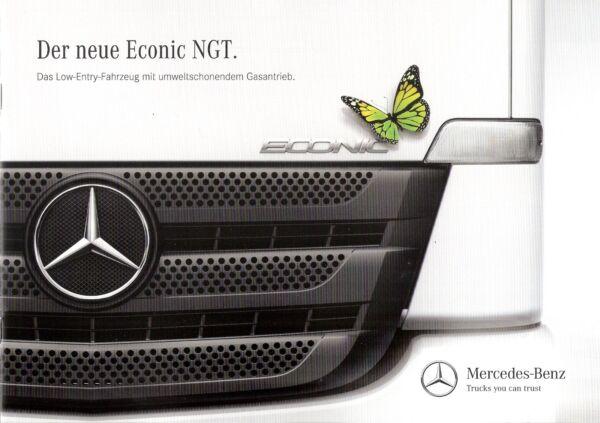 100% Vero Prospetto/brochure Mercedes Econic Ngt 08/2014