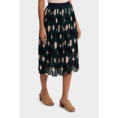 NEW Hi There From Karen Walker Sprayed Spot Pleat Skirt Assorted