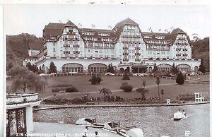 Brazil-Brasil-Petropolis-Palacio-Quitandihna-Hotel-old-real-photo-postcard