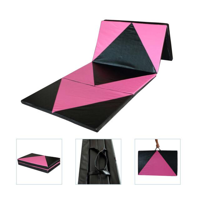 Folding Panel Gymnastics Mat Gym Fitness Exercise Stretching Yoga Tumbling Thick