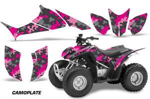 ATV-Graphics-Kit-Quad-Decal-Sticker-Wrap-For-Honda-TRX90-2006-2018-CAMOPLATE-PNK