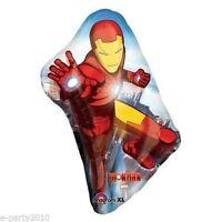 Iron Man Supershape Foil Balloon Birthday Party Supplies Decorations Helium