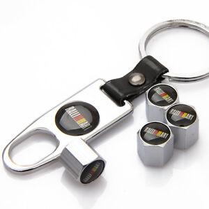Car-Keychain-Tire-Tube-Valve-Stem-Cap-Tubeless-Tire-Air-Caps-For-RALLIART-jS244