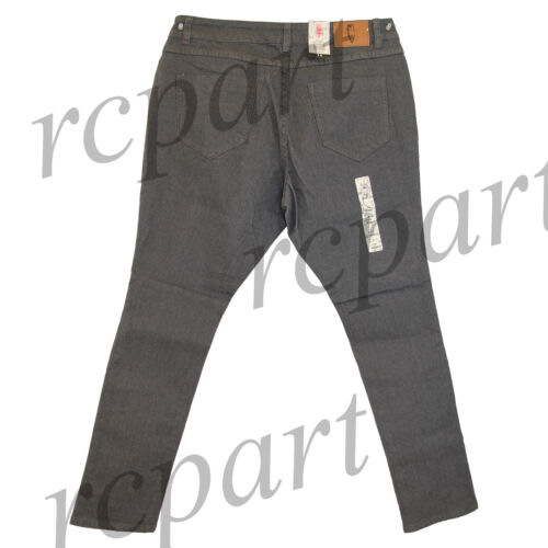 New Jeans Colony Women/'s Casual Basic Skinny Jeans Dark Charcoal 14 16 18 20 22