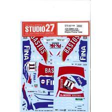 "Studio27 ST27-DC1126 BMW 318i ""BASTOS/FINA"" Belgian ProCar 1996 Decal 1/24"