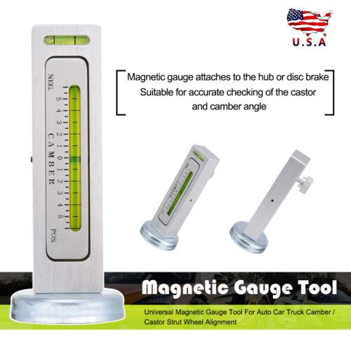 Universal Magnetic Gauge Tool for Car//Truck Camber//Castor Strut Wheel Alignment