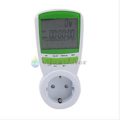 POWER CONSUMPTION ENERGY WATT VOLT METER ELECTRICITY USAGE MONITOR ANALYZER