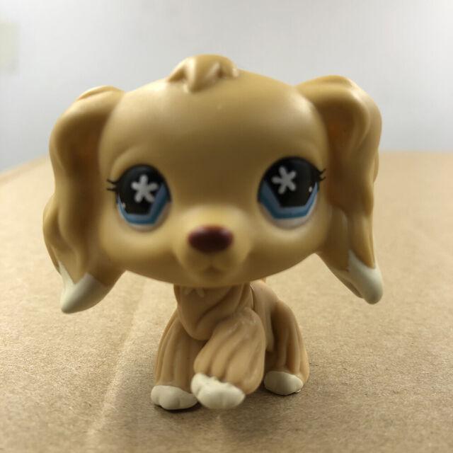 Littlest Pet Shop Animals Lps Toy 91 Yellow Cocker Dog A1 For Sale Online Ebay