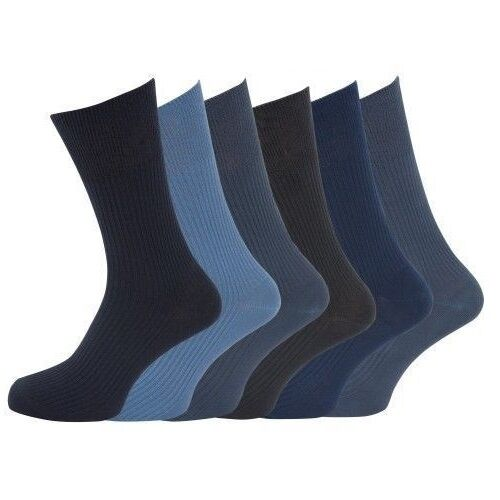 Mens 12 Pairs 100/% COTTON Everyday Socks Big Foot Standard UK 6-11,UK 10-13