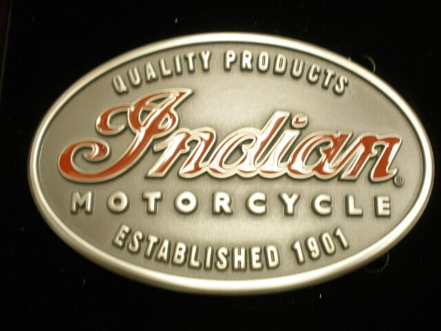 Indian Motorcycle Emlem Belt Buckle (2862296) NIP