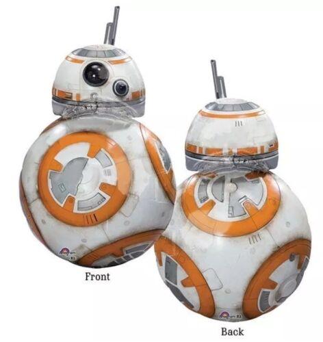 Anagram BB-8 Star Wars Disney Supershape Large Foil Helium Balloon NEW
