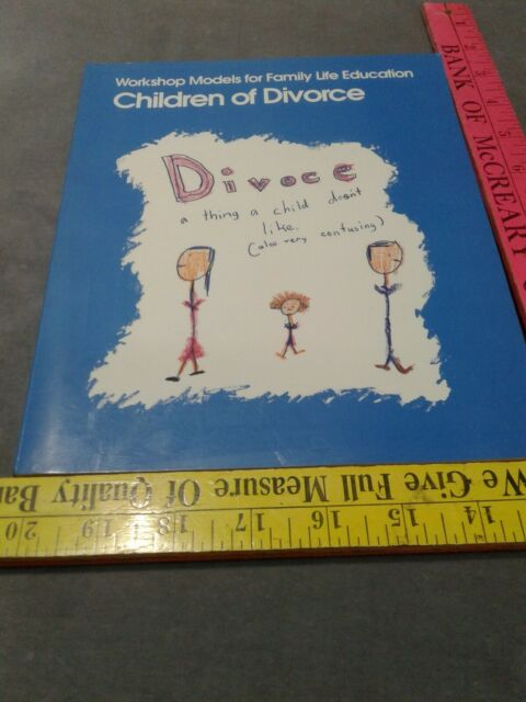 Children of Divorce paperback families International Maryland Davenport