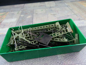 Märklin 7009 10 x Oberleitungsmast für K- Gleis H0 MHK146 Gebraucht