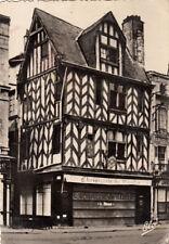 LA ROCHELLE vieille maison place du marché écrite 1954