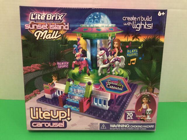 Lite Brix Sunset Island Mall Free Shipping CRA-Z-ART
