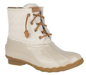 NIB Women's Sperry Saltwater Duck Boots
